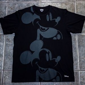 Other - Uniqlo Mickey Mouse Andy Warhol Short Sleeve (L)
